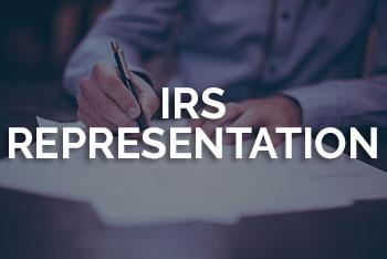 IRS-REPRESENTATION
